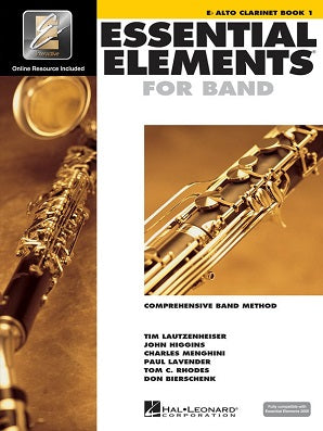 Essential Elements for Band - Book 1 with EEi Eb Alto Clarinet