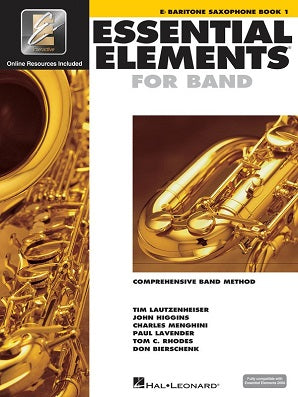 Essential Elements for Band - Book 1 with EEi Eb Baritone Saxophone
