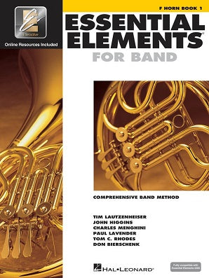 Essential Elements for Band - Book 1 with EEi F Horn