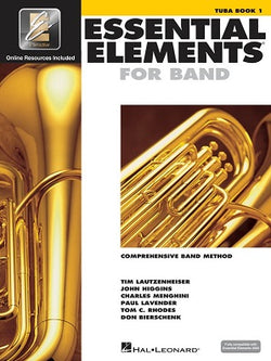 Essential Elements for Band - Book 1 with EEi Tuba in C (B.C.)