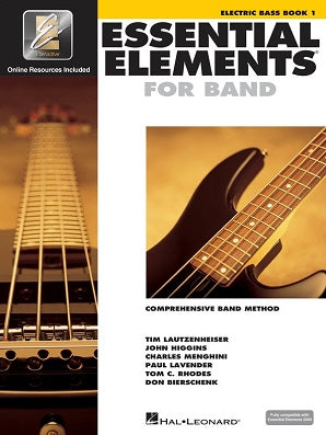 Essential Elements for Band - Book 1 with EEi Electric Bass