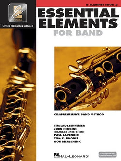 Essential Elements for Band Clarinet - Book 2 with EEi