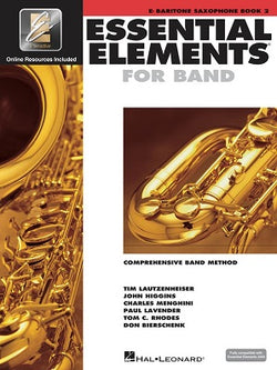 Essential Elements for Band - Book 2 with EEi Eb Baritone Saxophone