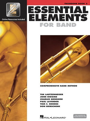 Essential Elements for Band - Book 2 with EEi  Trombone