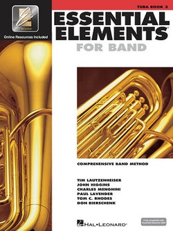 Essential Elements for Band - Book 2 with EEi Tuba in C (B.C.)