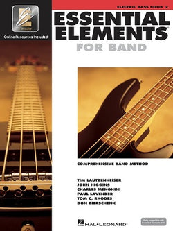 Essential Elements for Band - Book 2 with EEi Electric Bass