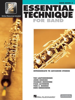 Essential Technique For Band Bk3 Oboe Eei