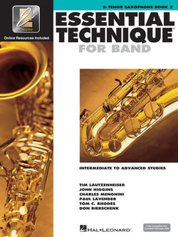 Essential Technique For Band Bk3 Tenor Sax Eei