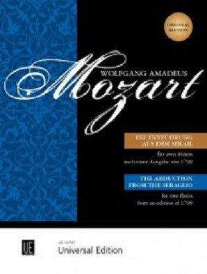 Mozart - The Abduction from the Seraglio for 2 flutes KV 384