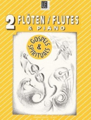 Gospels & Spirituals for 2 flutes and piano (Universal)