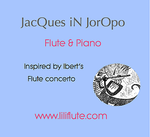 Marulanda, Carmen - JacQues iN JorOpo for Flute & Piano