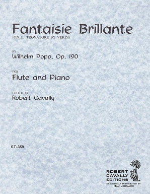 Popp - Fantaisie Brillante (on themes from Il Trovatore)