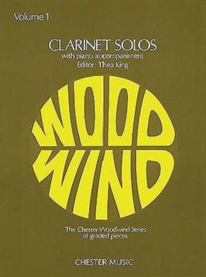 King, Thea - Clarinet Solos Volume 1