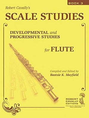 Scale Studies 3 : Developmental and Progressive Studies for Flute