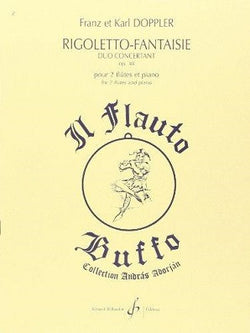 Doppler - Rigoletto Fantasie OP 38 Duo Concertante (Billaudot)