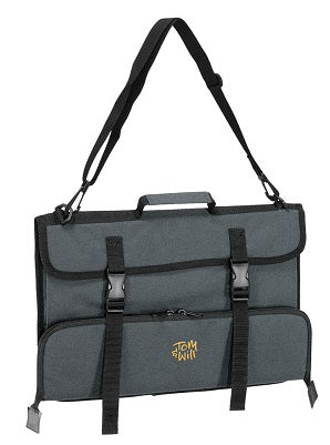 Tom & Will music case with long accessory pocket in grey