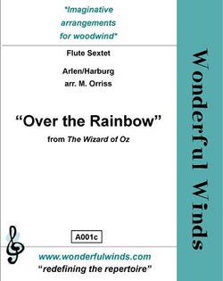 Arlen/Orriss - Over the rainbow flute choir WW)