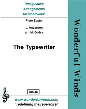 Anderson/Orriss - The Typewriter (WW)