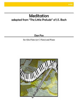 Fox - Meditation - for alto flute and piano