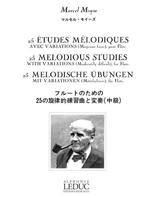 Moysde, Marcel - 25 Melodious Studies with Variations