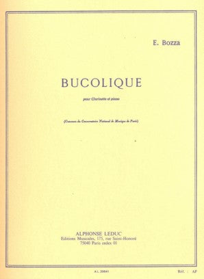 Bozza, E - Bucolique Clarinet And Piano