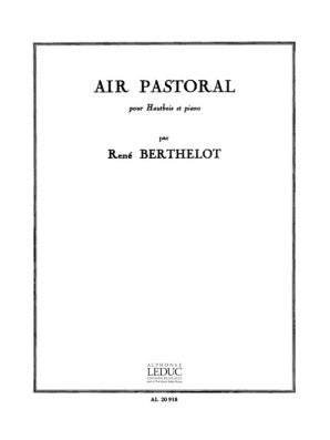 Berthelot, Rene - Air Pastoral for Oboe and Piano