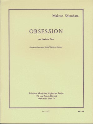 Shinohara, Makoto - Obsession for oboe and piano