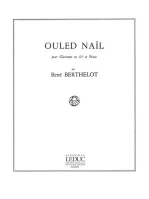 Berthelot, Rene - Ouled Nail for oboe (or clarinet, or alto saxophone) and piano