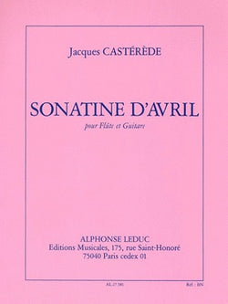 Casterede, Jacques  -  D'Avril for flute and guitar