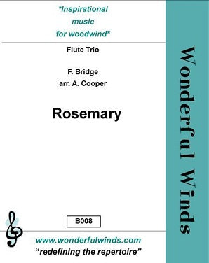 Bridge - Rosemary for 3 flutes