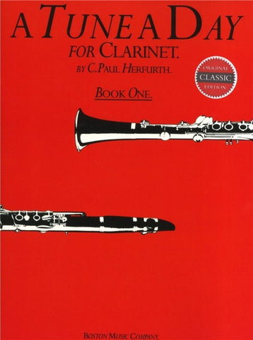 A Tune A Day For Clarinet - Book One