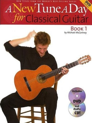 A New Tune A Day Classical Guitar Book 1 (DVD edition)