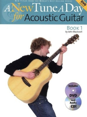 A New Tune A Day Acoustic Guitar Book 1 (DVD edition)