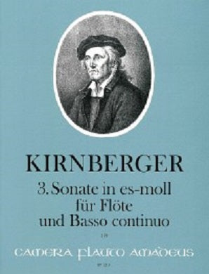 Kirnberger, JP - 3 . Sonata in E flat minor