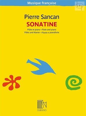 Sancan, P - Sonatine for Flute and Piano (New Edition)