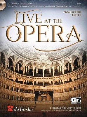 Live at the Opera arranged for Flute