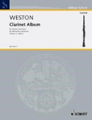 Weston, P - First Clarinet Album Vol 2