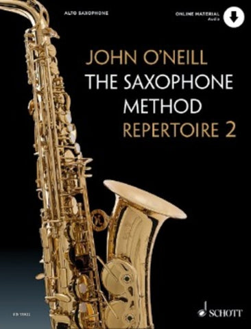 O'Neill, John - The Saxophone Method Repertoire Book 2