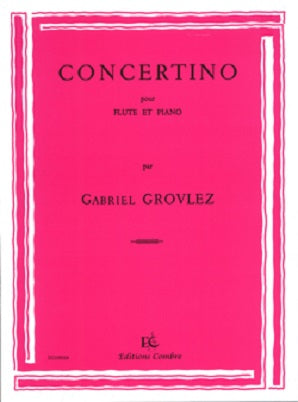 Grovlez- Concertino (Editions Combre )