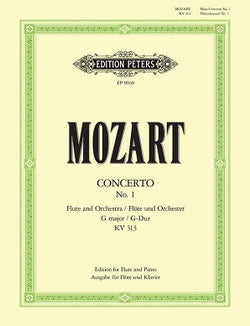 Mozart, WA - Concerto No. 1 G major, with Cadenzas K. 313 (Edition Peters)