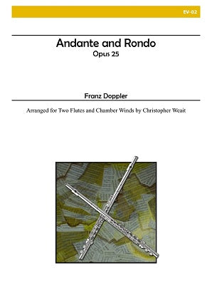 Doppler (arr. Weait) - Andante and Rondo (Two Flutes and Chamber Winds