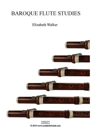 Walker, Elizabeth - Baroque Studies for baroque flute
