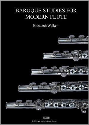 Walker, Elizabeth - Baroque Studies for Modern Flute
