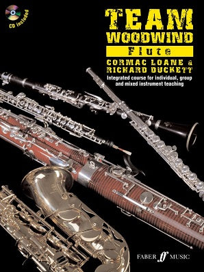 Richard Duckett, Cormac Loane - Team Woodwind - Flute (with CD)