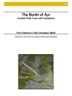 The Banks of Ayr for Solo Flute
