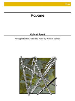 Faure, Gabriel - Pavane for Flute Choir and Piano