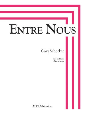 Schocker - Entre Nous for flute and harp