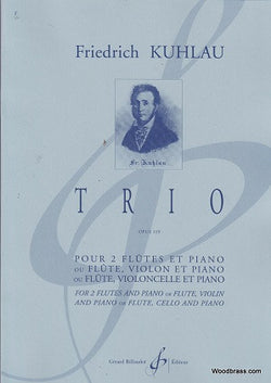 Kuhlau ,Friedrich - Trio in G Major op 119 for flute, cello and piano (Billaudot)