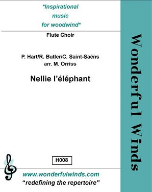 Hart/Butler/Saint-Saëns: Nellie l'éléphant for ensemble