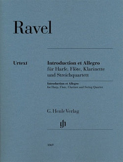 Ravel, M - Introduction et Allegro for Harp, Flute, Clarinet and String Quartet